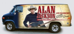 After the Scandinavian Tour Alan Jackson is coming to Everett, WA