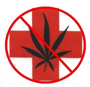 no medical marijuana