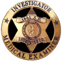 Medical Examiner badge