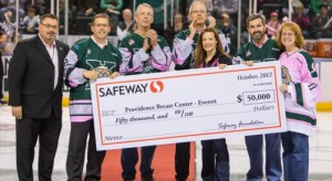 Safeway foundation check presentation