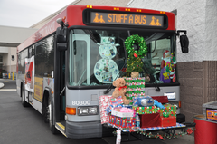 Stuff a bus in Everett