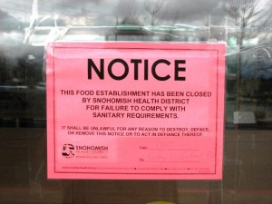 Grand China Buffet Closure notice