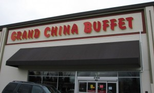 Grand China Buffet exterior