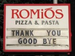Romios sign