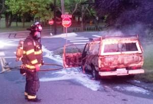 Lowell truck fire