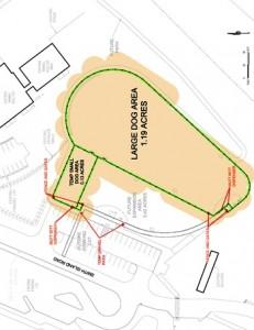 Everett dog park phase 1