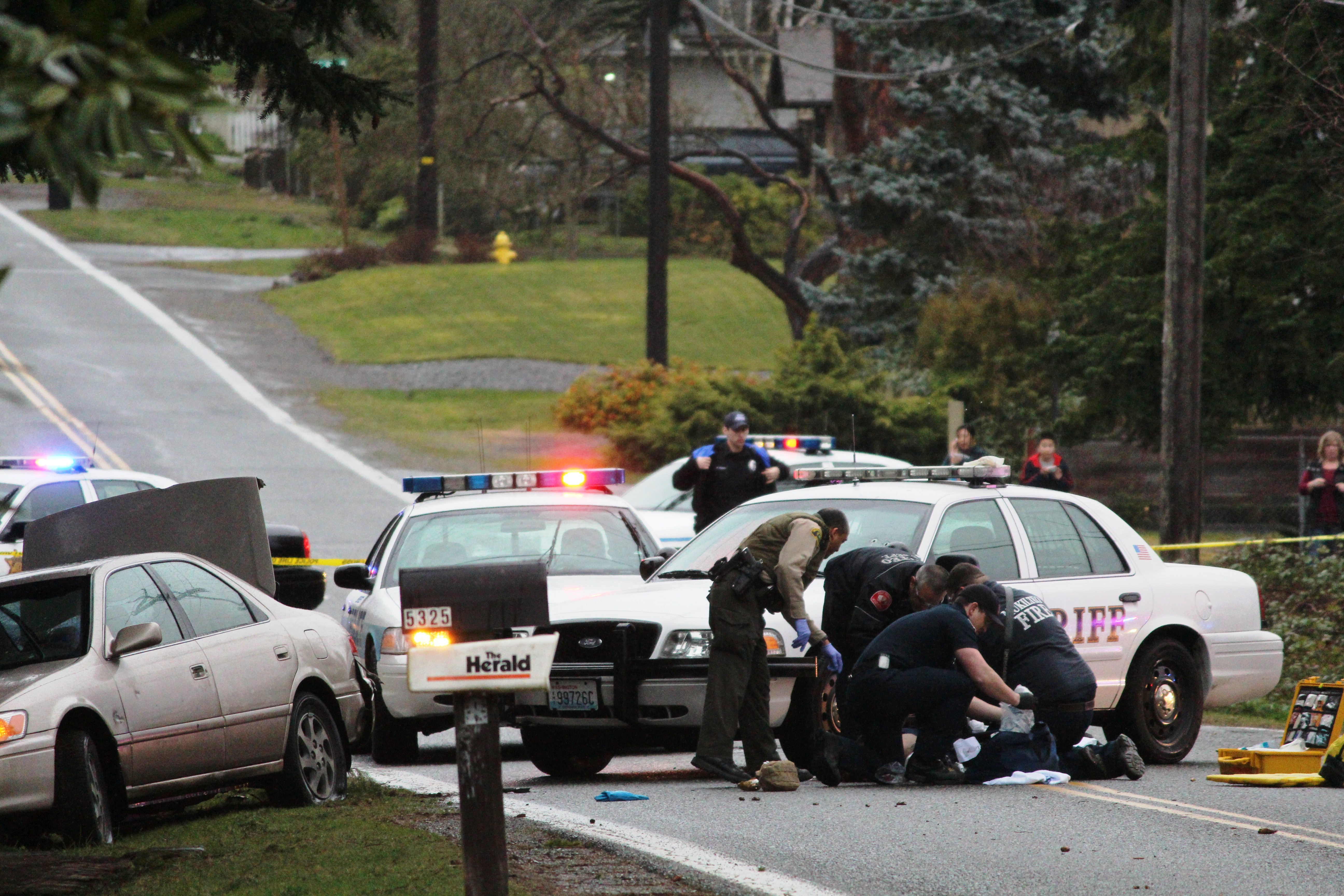 Police Chase Goes 110 Mph Thru Everett Ends With Shots In