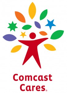 Comcast Cares logo