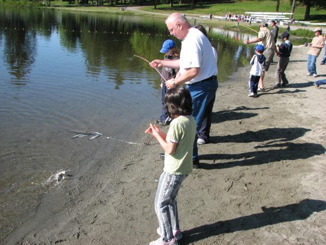 silver lake mears michigan fishing