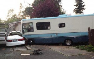 motorhome crash