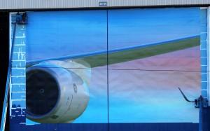 Boeing mural