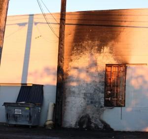 Everett dumpster fire
