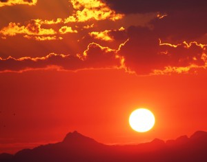Everett summer sun