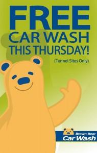 Brown Bear car wash
