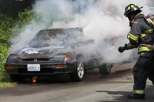 Car fire 5