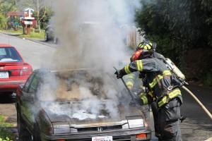 Car fire 6