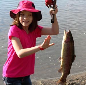 kids fish-in
