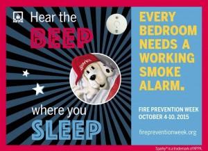 smoke alarm poster