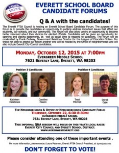 Everett candidate forum