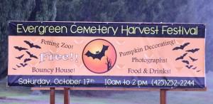 Cemetery festival