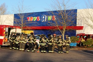 Toys R Us fire