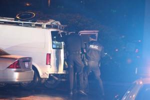 stolen van