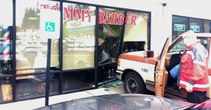 Barber Shop Everett : ... into the front window at Tommy Barber at 52nd and Evergreen Way