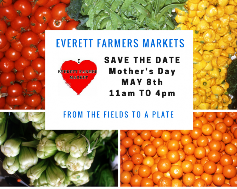 Everett Farmers Market Opens May 8th At New Waterfront Location