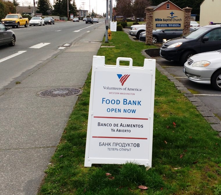 Food Bank Everett Wa Hours