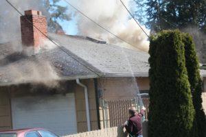Morgan road fire