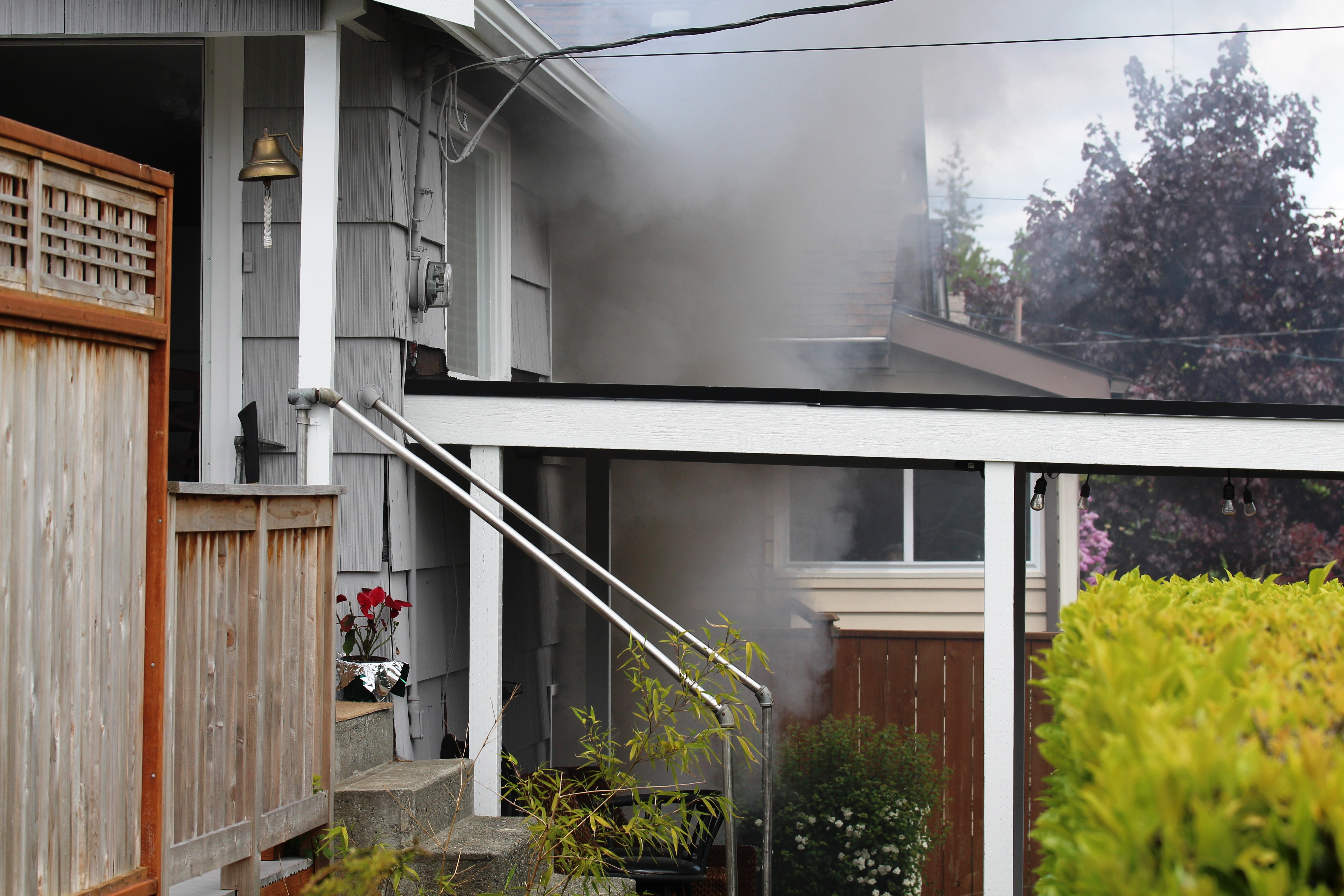 house with basement garage. Hoyt Fire Everett Crews Stop Basement Garage From Spreading