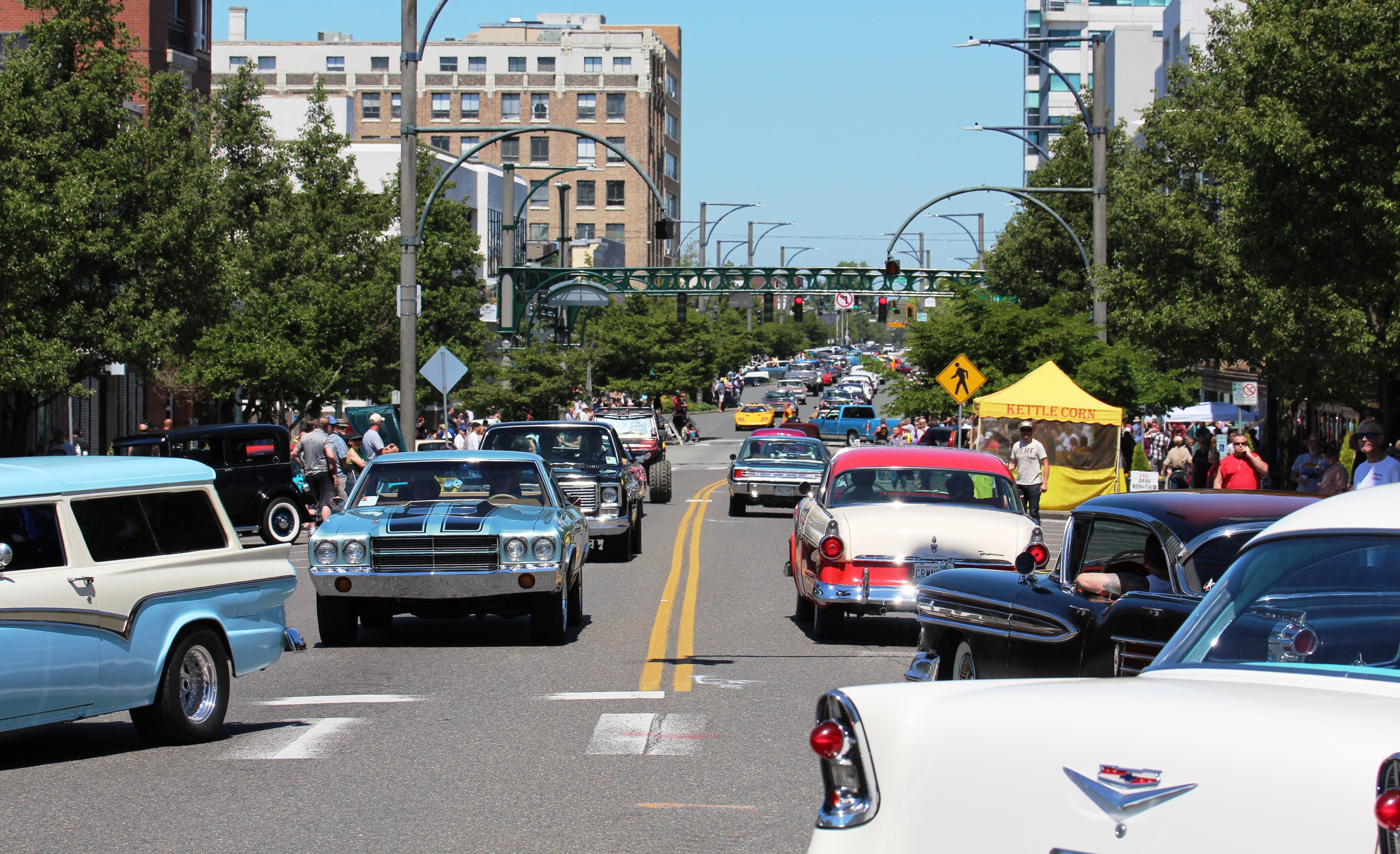 Everett Car Show Today