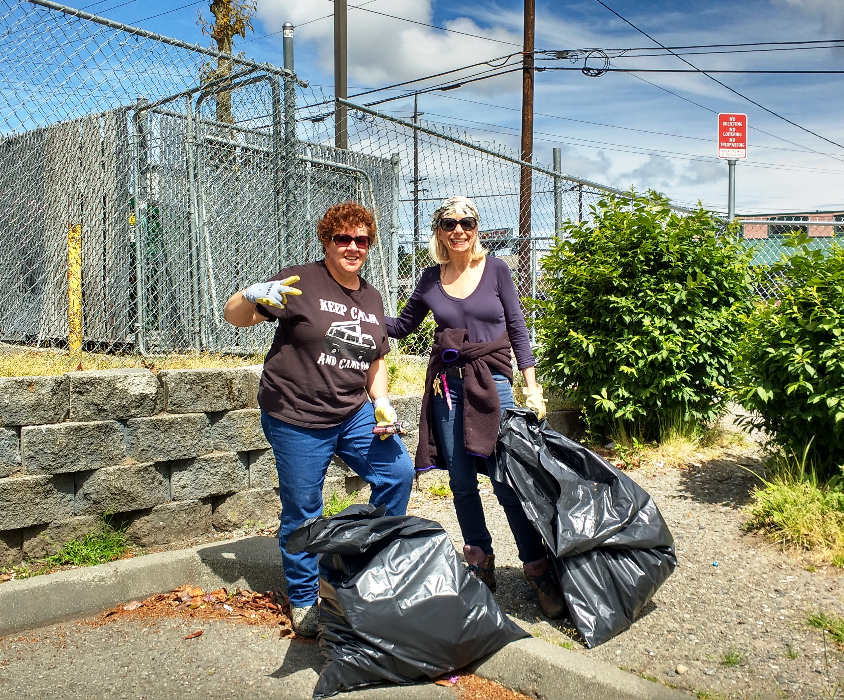 Moms Expand Clark Park Clean-Up To All Of Everett | MYEVERETTNEWS com