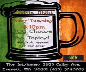 Irishmen Trivia