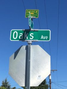 Oakes sign