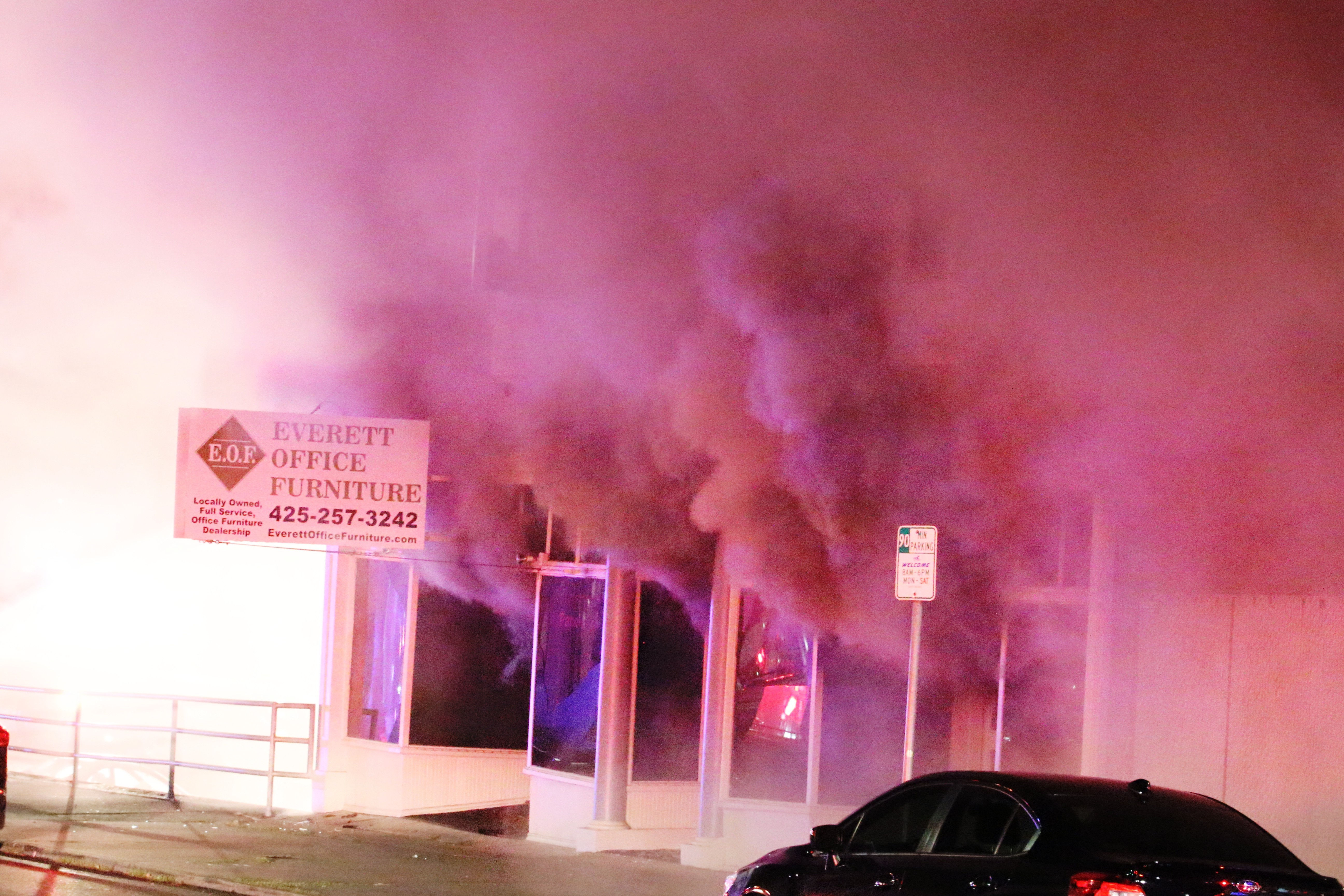 Delightful One Of The Oldest Buildings In Everett Was Gutted By A 3 Alarm Fire Monday  Night.