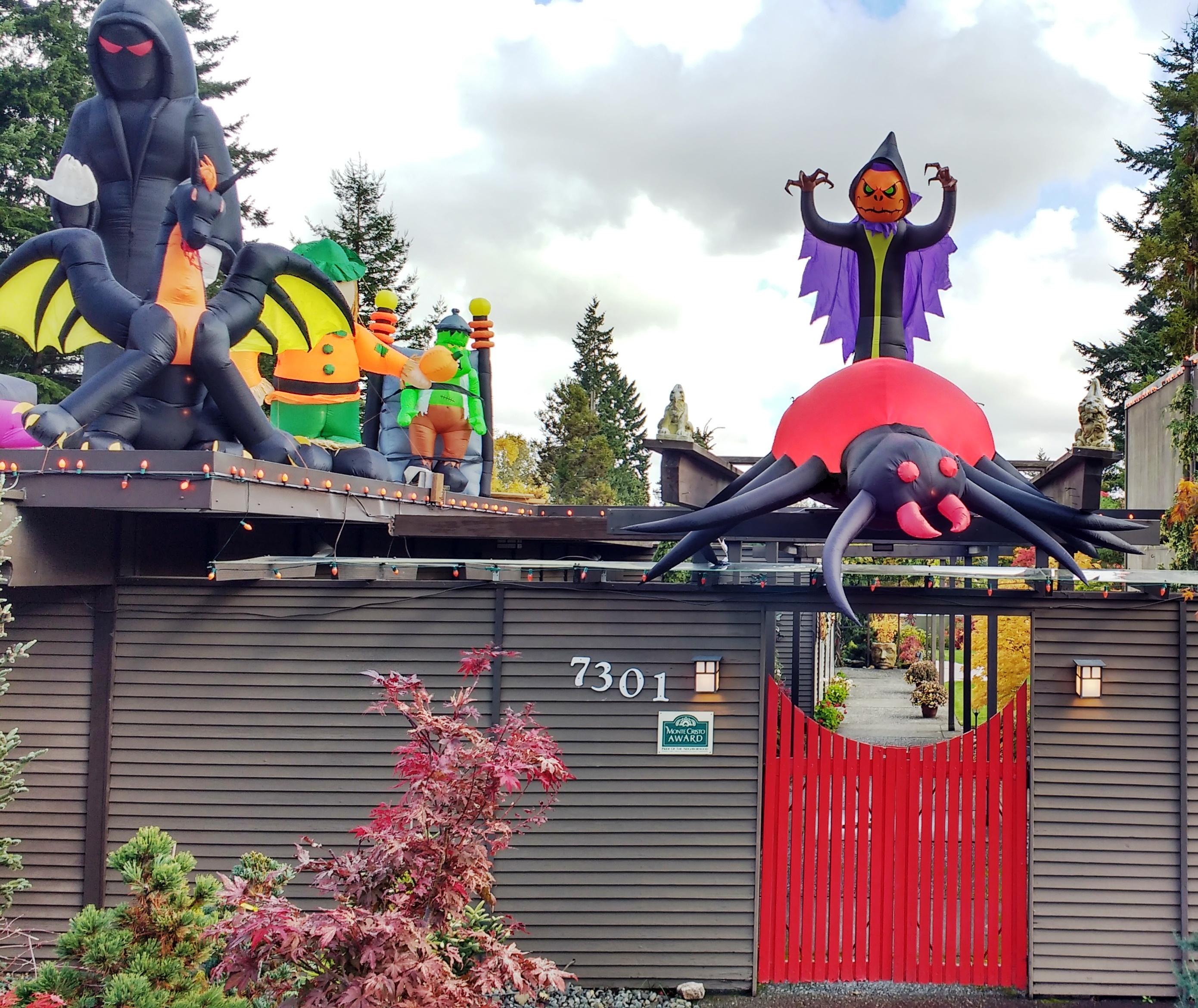 who has everett's best halloween house?   myeverettnews