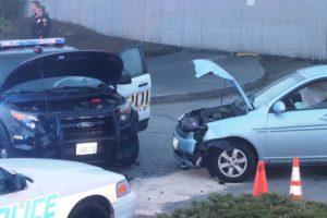 crash at precinct