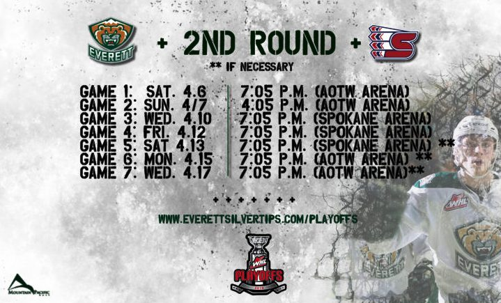 Silvertips Advance To Round 2 Of WHL Playoffs, Keep Home